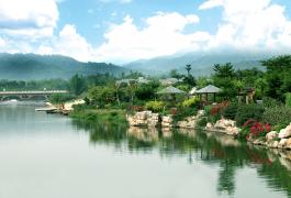 龙门南昆山温泉大观园