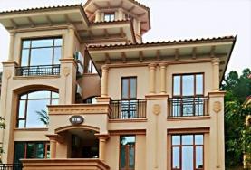 南昆山温泉大观园紫来龙庭47栋高端欧式独栋9房16床会所别墅