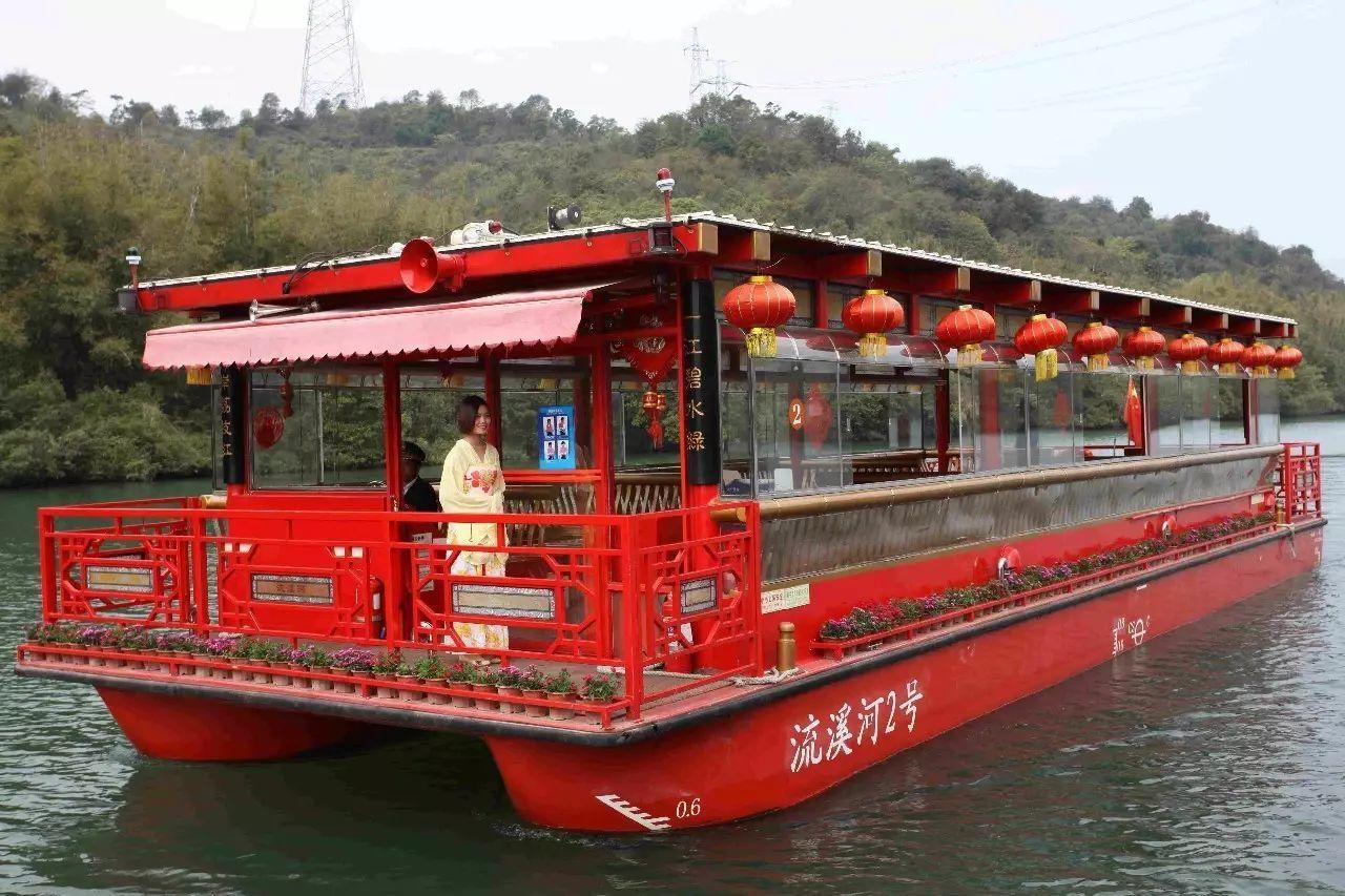 从化纯玩美食之旅【海鲜盛宴】 流溪河观景游船、【四季果园】时令水果试吃【从化一天】