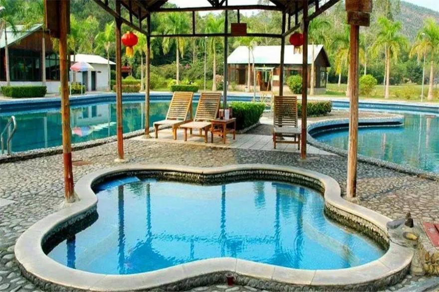 【龙门十三汤】到林丰温泉度假山庄静下来,好好感受自然,享受温泉度假
