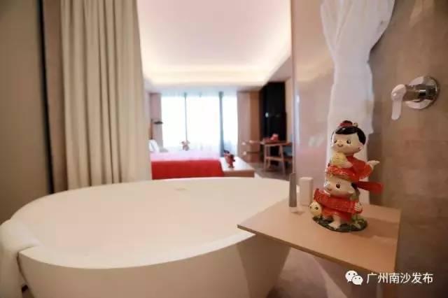 南沙又添一家高端酒店,花园酒店开始试营业,游泳池好正!